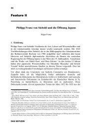 Philipp Franz von Siebold und die Öffnung Japans