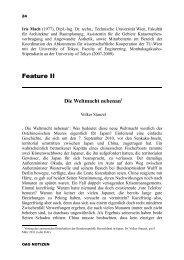 Feature Stanzel - Deutsche Gesellschaft für Natur- und Völkerkunde ...