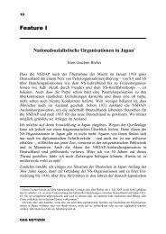 OAG NOTIZEN November 2003 - Deutsche Gesellschaft für Natur ...