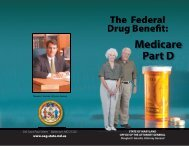 Part D Booklet download - Maryland Attorney General
