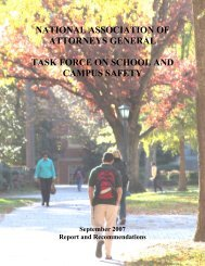 National School Safety Task Force report - Texas Attorney General