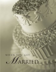 When You Get Married - Texas Attorney General