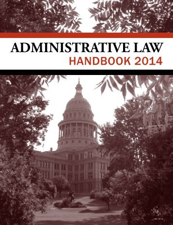 Administrative Law - Texas Attorney General