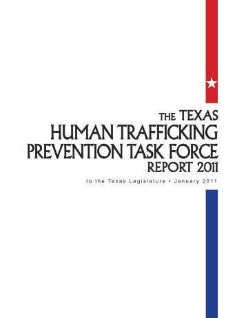 human Trafficking PrevenTion Task force - Texas Attorney General