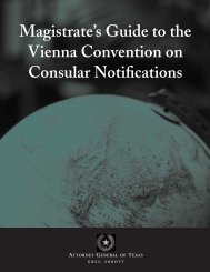 Magistrate's Guide to the Vienna Convention on Consular Notifications