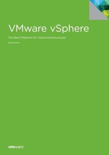 VSphere Enterprise Datasheet - Westbourne IT Solutions