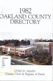 1982 - Oakland County