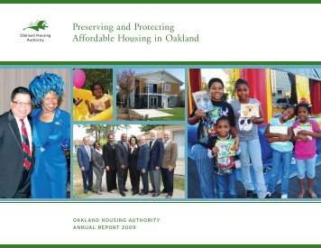 Preserving and Protecting Affordable Housing in Oakland
