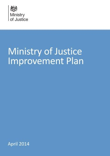 moj-improvement-plan-april-2014