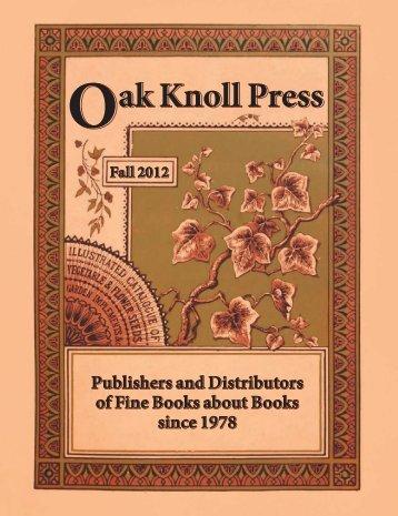 Download Printable PDF (3.48 MB) - Oak Knoll Books