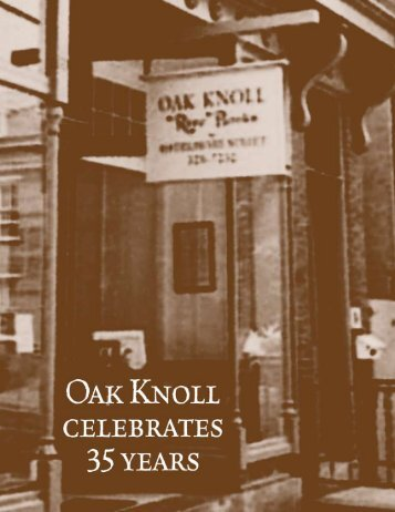 (Bookbinding). - Oak Knoll Books