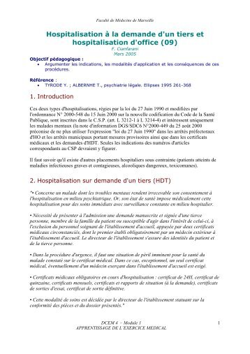 H pitaux demande de prolongation d 39 hospitalisation inami - Procedure hospitalisation d office ...
