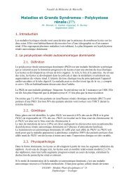 Maladies et Grands Syndromes - Polykystose rénale (277) - Serveur ...