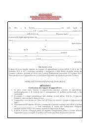 CCNL ASSIPAN UGL - Accordo Apprendistato ALLEGATI 1-2-3