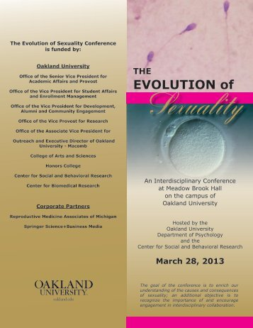 EVOLUTION of - Oakland University