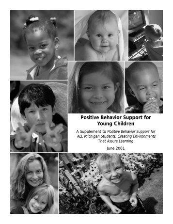 Positive Behavior Support for Young Children - Oakland Schools