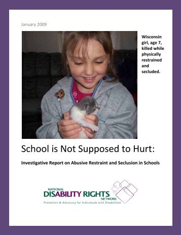 School is Not Supposed to Hurt: - Autism Education Project
