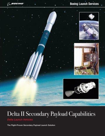 Delta II Secondary Payload Capabilities