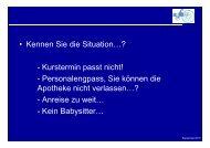 Präsentation - Bern
