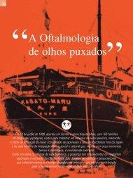 A Oftalmologia de olhos puxados - Conselho Brasileiro de ...