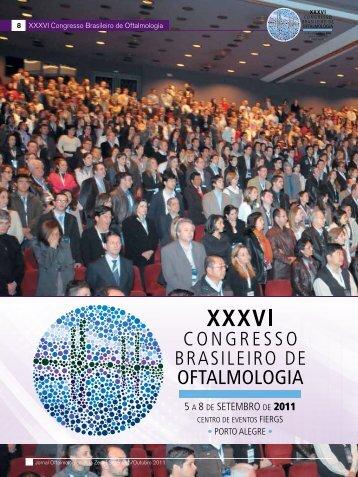 8 XXXVI Congresso Brasileiro de Oftalmologia - Conselho Brasileiro ...