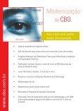 Abra os olhos e veja o futuro. - Conselho Brasileiro de Oftalmologia - Page 2