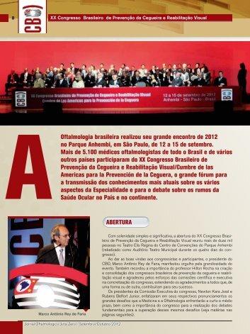 Congresso - Conselho Brasileiro de Oftalmologia
