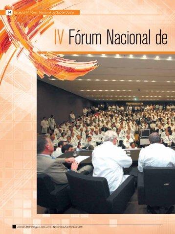 14 Especial IV Fórum Nacional de Saúde Ocular - Conselho ...