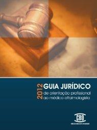 Guia Jurídico 2012.indd - Conselho Brasileiro de Oftalmologia