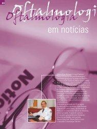 em notícias - Conselho Brasileiro de Oftalmologia
