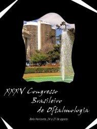 Programação - Conselho Brasileiro de Oftalmologia