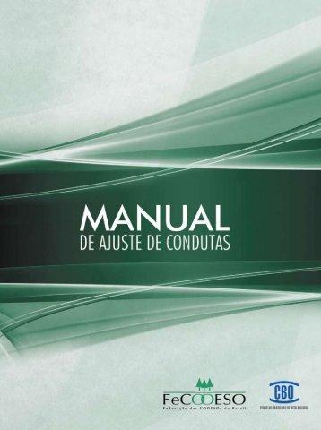 Manual de Ajuste de Condutas 2012 - Conselho Brasileiro de ...
