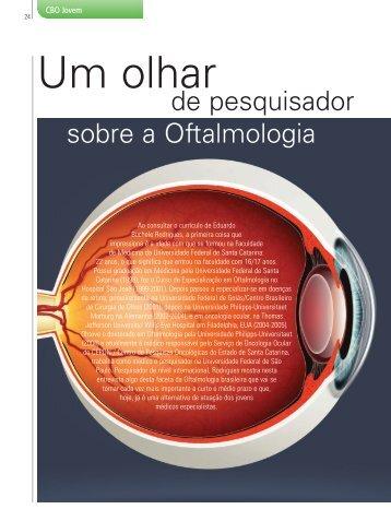 Um olhar - Conselho Brasileiro de Oftalmologia