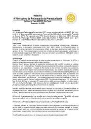 IV Workshop de Retinopatia da Prematuridade - Conselho Brasileiro ...