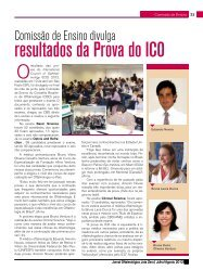 resultados da Prova do ICO - Conselho Brasileiro de Oftalmologia