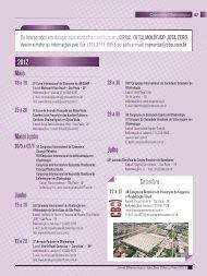 Calendário Oftalmológico - Conselho Brasileiro de Oftalmologia