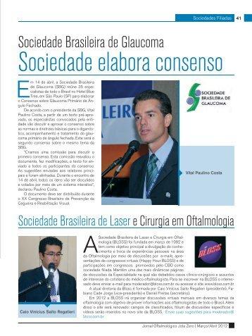 Sociedades Filiadas - Conselho Brasileiro de Oftalmologia