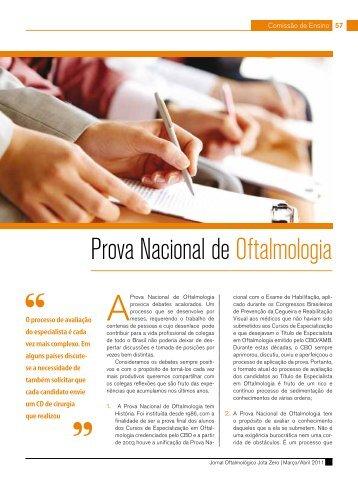 A gota - Conselho Brasileiro de Oftalmologia