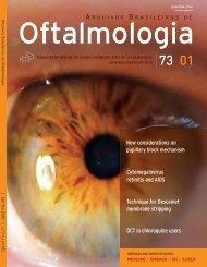 Capa 2-ABO 73-01-Final.indd - Conselho Brasileiro de Oftalmologia