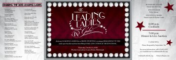 OC Leading Ladies Invitation - Oakland Catholic High School