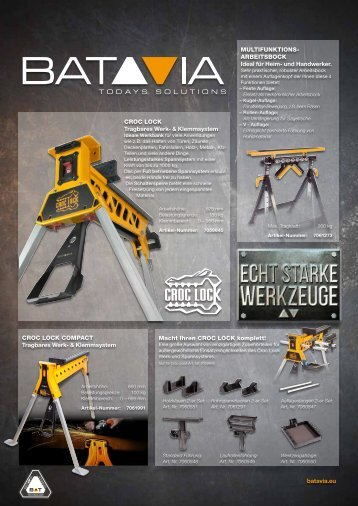 BATAVIA Katalog 2014