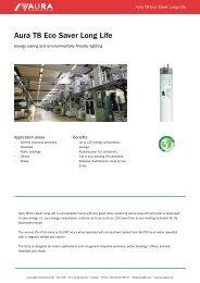 Aura T8 Eco Saver Long Life - Aura Light