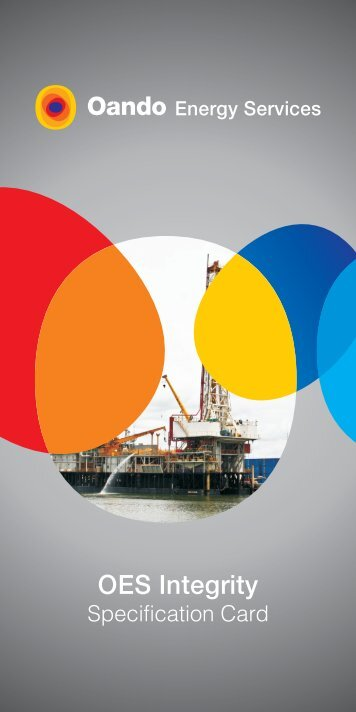 Rig Specification Brochure - Oando PLC
