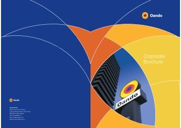 Corporate Brochure - Oando PLC