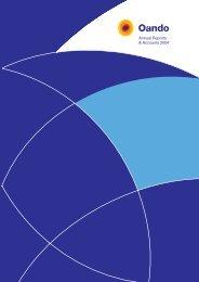 2004 Annual Report - Oando PLC