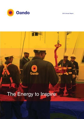 2010 Annual Report - Oando PLC