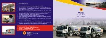 VAP Brochure - Oando PLC