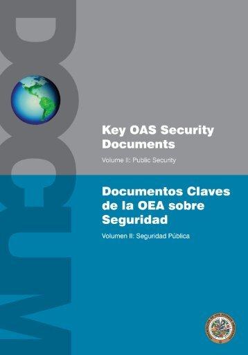 Documentos claves de la OEA sobre Seguridad. Volumen II - OAS
