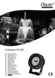 Lunaqua 10 LED - Zahradní jezírka OASE