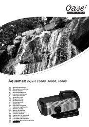 Aquamax Expert 20000, 30000, 40000